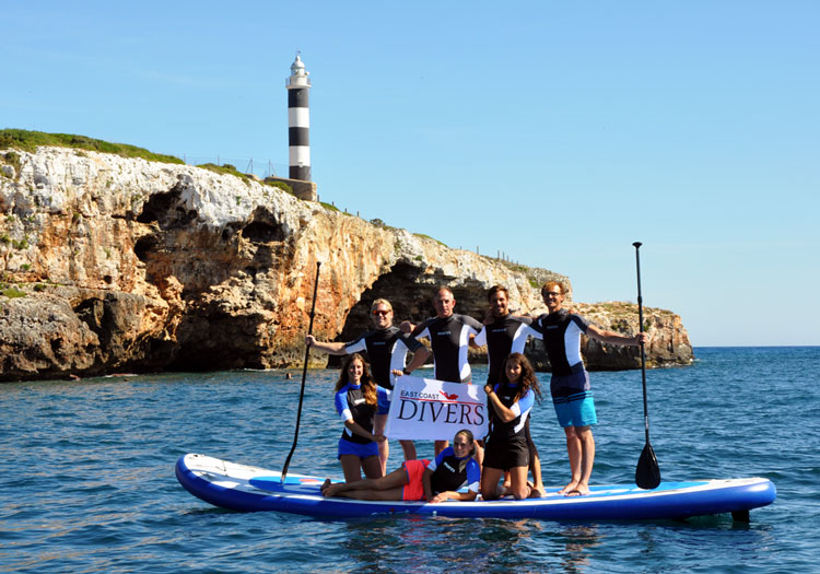 Staff Team von East Coast Divers Mallorca
